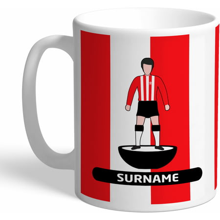 Personalised Southampton Player Figure Mug