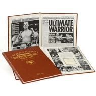 Personalised Boxing Newspaper Book - Leather Cover