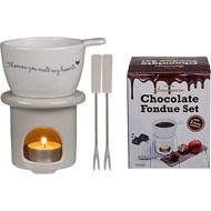 Personalised Chocolate Fondue Set