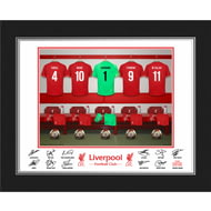 Personalised Liverpool FC Goalkeeper Dressing Room Shirts Photo Folder