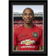 Personalised Manchester United FC Young Autograph Photo Framed