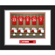 Personalised Nottingham Forest FC Dressing Room Photo Folder