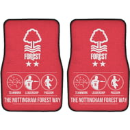 Personalised Nottingham Forest FC Way Front Car Mats
