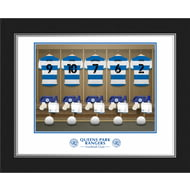 Personalised Queens Park Rangers FC Dressing Room Photo Folder