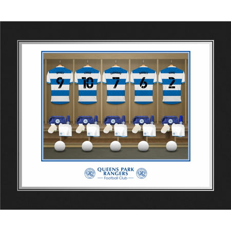 Personalised Queens Park Rangers FC Dressing Room Shirts Photo Folder