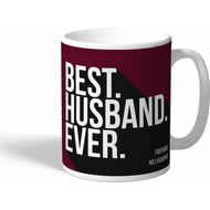 Personalised West Ham United Best Husband Ever Mug