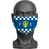 Personalised Leeds United FC Initials Adult Face Mask