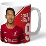 Personalised Liverpool FC Firmino Autograph Mug
