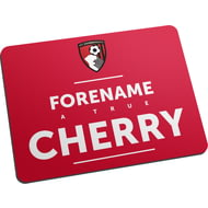 Personalised AFC Bournemouth True Mouse Mat