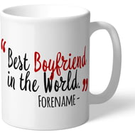 Personalised Brentford Best Boyfriend In The World Mug