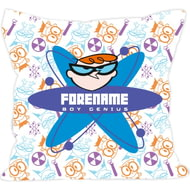 Personalised Dexter's Lab Boy Genius Cushion