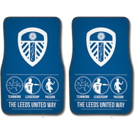 Personalised Leeds United FC Way Front Car Mats