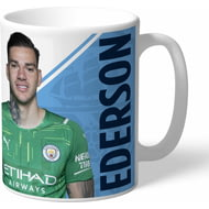 Personalised Manchester City FC Ederson Autograph Mug