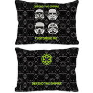 "Personalised Star Wars Rogue One ""Defend The Empire"" Rectangle Cushion - 45x30cm"