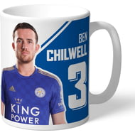 Personalised Leicester City FC Chilwell Autograph Mug