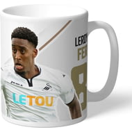 Personalised Swansea City AFC Fer Autograph Mug