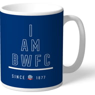 Personalised Bolton Wanderers I Am Mug