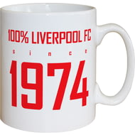 Personalised Liverpool FC 100 Percent Mug