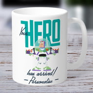 Personalised Toy Story 4 Your Hero Has Arrived Ceramic Mug