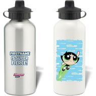 Personalised Powerpuff Girls Buttercup Cloud Water Bottle