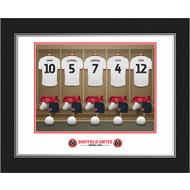 Personalised Sheffield United FC Dressing Room Shirts Photo Folder