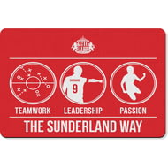Personalised Sunderland AFC Way Rubber Backed Large Floor Mat - 60x90cm