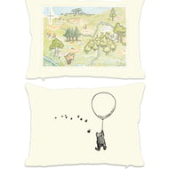 Personalised Winnie The Pooh Map Rectangle Cushion - 45x30cm