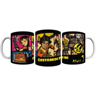 Personalised Star Wars Rebels Comic Print Mug