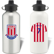 Personalised Stoke City FC Aluminium Water Bottle