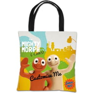 Personalised Morph The Mighty Morph & Chas Tote Bag