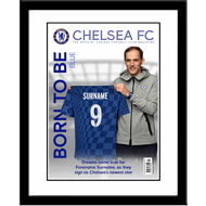 Personalised Chelsea FC Magazine Front Cover Framed Print