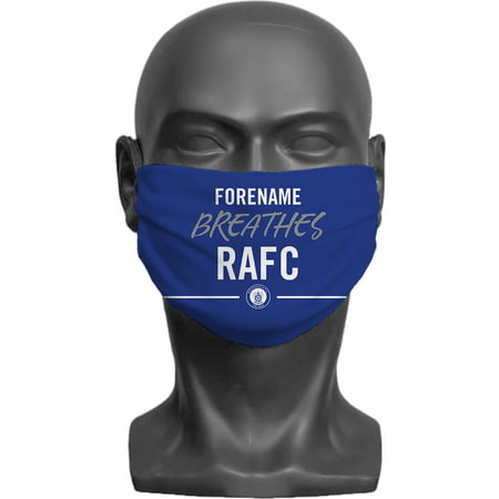 Personalised Rochdale AFC Breathes Adult Face Mask