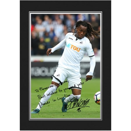 Personalised Swansea City AFC Sanches Autograph Photo Folder