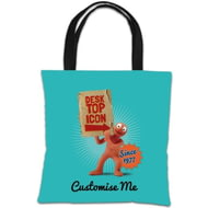 Personalised Morph 'Desktop Icon' Tote Bag