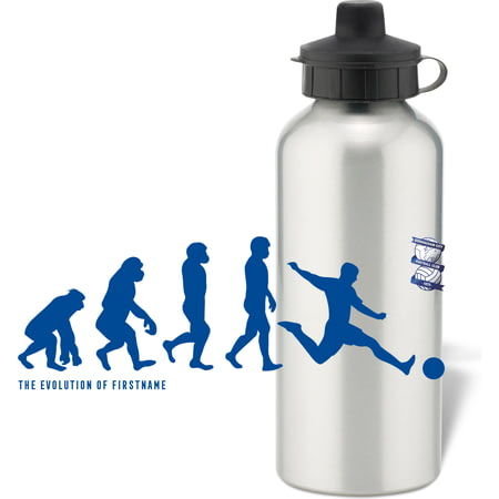 Personalised Birmingham City Player Evolution Aluminium Sports Water Bottle