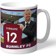 Personalised Burnley FC Manager Mug