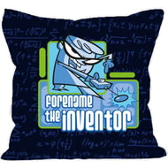 Personalised Dexter's Lab Inventor Cushion - 45x45cm