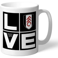 Personalised Fulham FC Love Mug