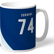 Personalised Millwall FC Stripe Mug