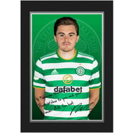 Personalised Celtic FC Forrest Autograph Photo Folder