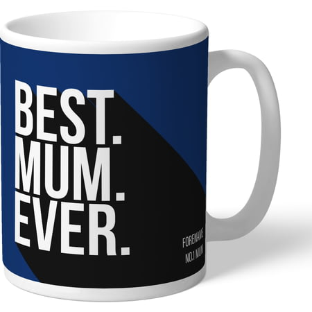 Personalised Millwall FC Best Mum Ever Mug