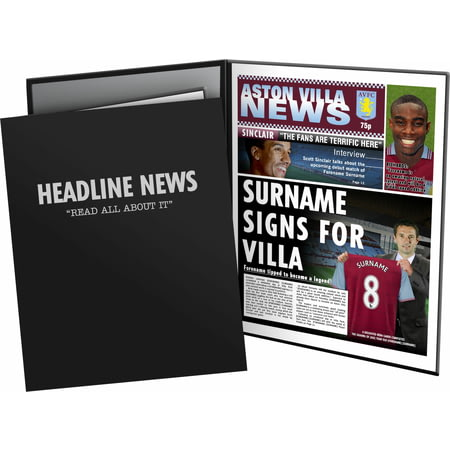 Personalised Aston Villa FC News Folder