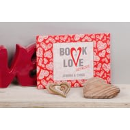 Personalised Book Of Love Artwork