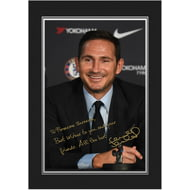 Personalised Chelsea FC Manager autograph Photo Folder