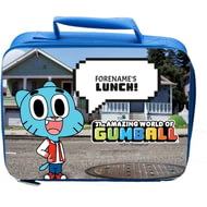 Personalised Gumball Insulated Lunch Bag