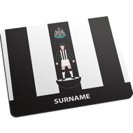 Personalised Newcastle United FC Player Figure Mouse Mat