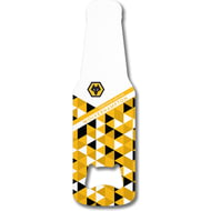 Personalised Wolves Patterned Bottle Shaped Bottle Opener