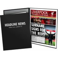 Personalised Liverpool FC News Folder