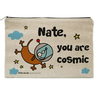 Personalised Cosmic Dog Pencil Case