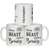 Personalised Every Beauty Ceramic Mug